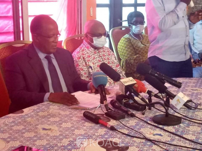 Côte d'Ivoire : Ouegnin annonce le dépôt de la candidature de Gbagbo malgré sa radiation de la liste électorale