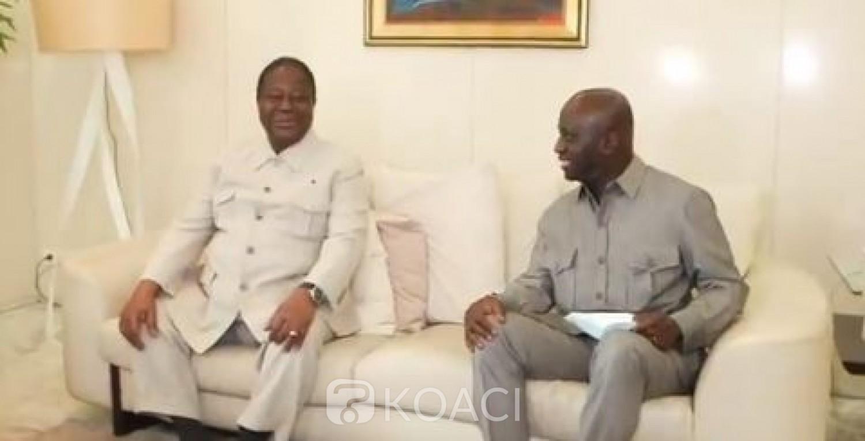 Côte d'Ivoire : Situation socio-politique,  Bédié réitère sa disponibilité   à Marcel Amon Tanoh afin de réunir les conditions d'un dialogue inclusif