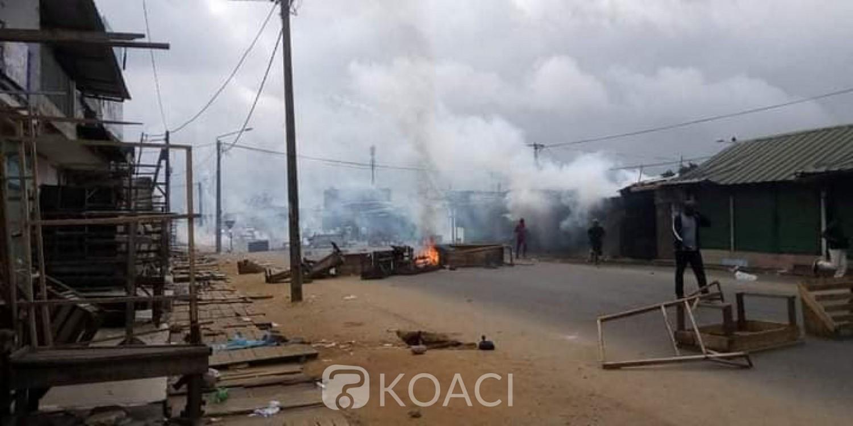 Côte d'Ivoire : Protestation de rue, un groupe de jeunes manifestants dispersés à Yopougon