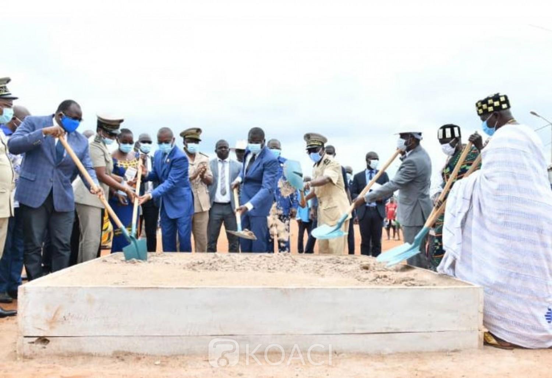 Côte d'Ivoire : Après Bingerville, Amedé Kouakou met le cap sur Tiébissou et annonce les travaux de bitumage de l'axe  route Didievi-Bouake pour bientôt