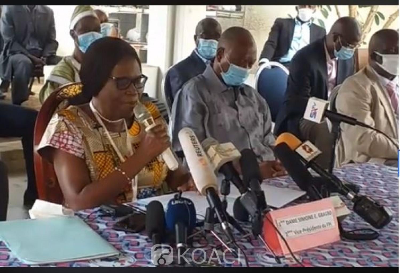 Côte d'Ivoire : Simone Gbagbo à Ouattara «personne ne pourra nous intimider tant qu'il s'agira de l'avenir de notre nation», elle milite pour le report du scrutin