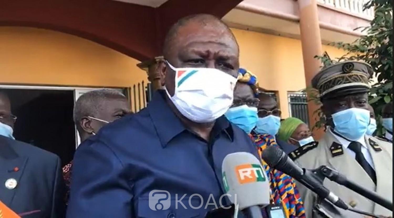 Côte d'Ivoire : Hamed Bakayoko depuis  Bonoua : « La vérité des urnes est là pour départager les politiques »