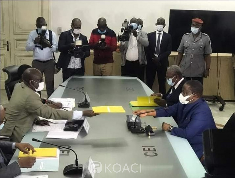 Côte d'Ivoire : Après le dépôt de ses dossiers à la CEI, Bédié confie sa candidature au peuple