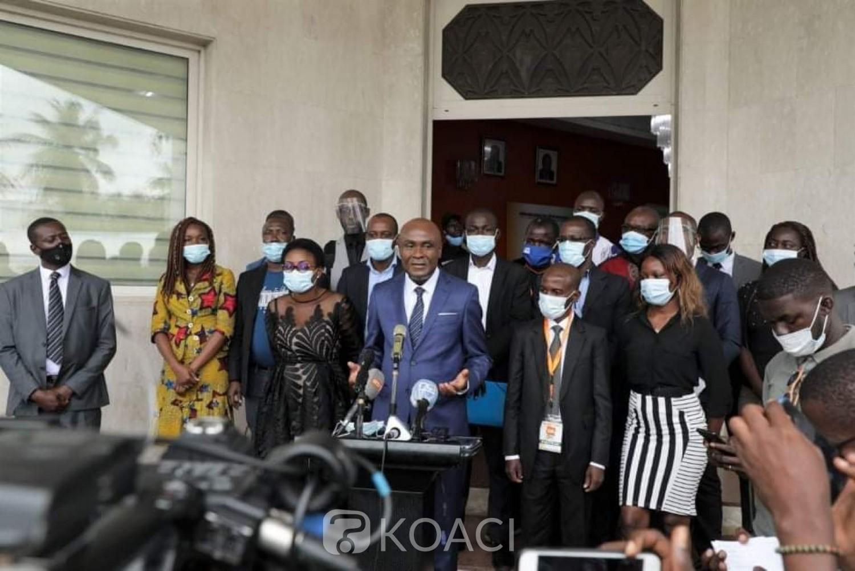Côte d'Ivoire :    Présidentielle d'octobre 2020, le 13ème candidat a déposé son dossier de candidature aujourd'hui à la CEI