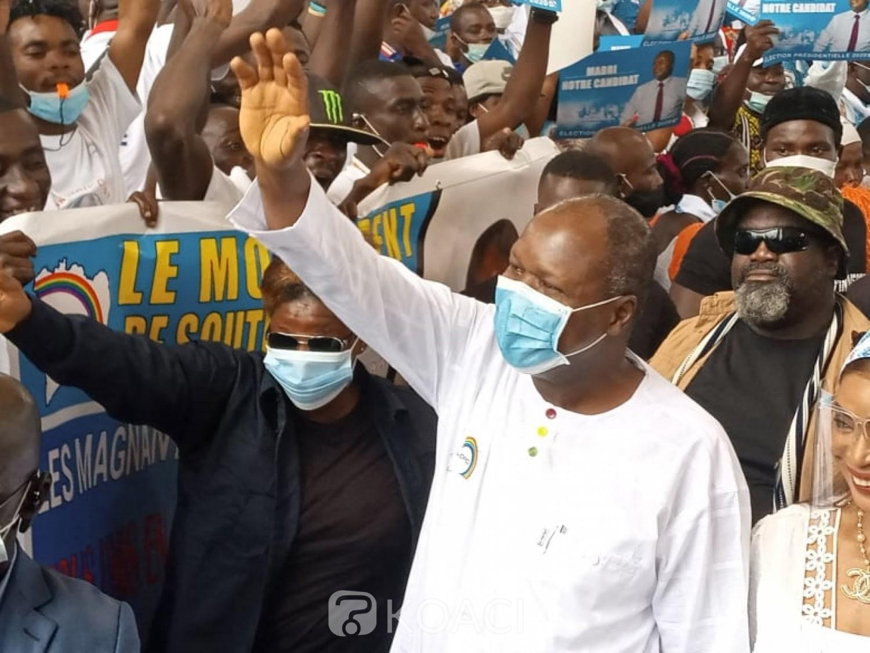 Côte d'Ivoire :  Élection présidentielle, les 12 chantiers du candidat de l'UDPCI, Albert Mabri Toikeusse pour améliorer l'image de « l'Etat de la nation »