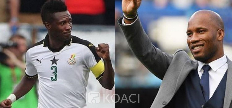 Ghana - Côte d'Ivoire :  Election à la FIF, Asamoah Gyan en défense pour Drogba