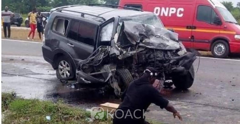 Côte d'Ivoire : Le Président du Tribunal d'Abidjan sort indemne d'un accident mortel sur l'autoroute du nord, 6 morts