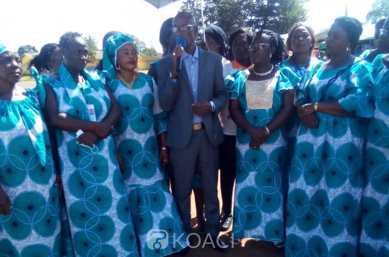 Côte d'Ivoire : Bouaké, réunies au sein de l'ASOPADE, des femmes s'engagent pour la victoire du candidat Ouattara