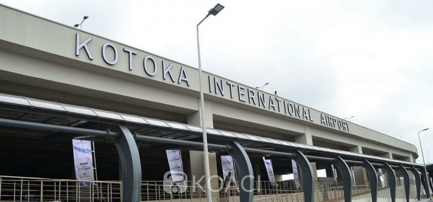 Ghana :  Aéroport, reprise des vols le 1er septembre, conditions