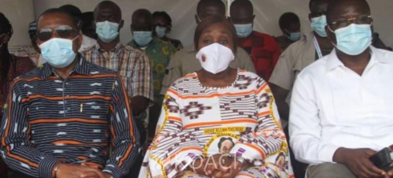 Côte d'Ivoire : Obsèques d'Allah Thérèse, note de remerciement spéciale à Dr Raymonde Goudou Coffie pour son implication