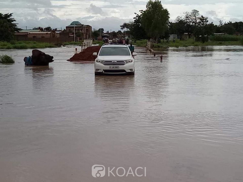 Burkina Faso : Pluies diluviennes et inondations à Ouagadougou