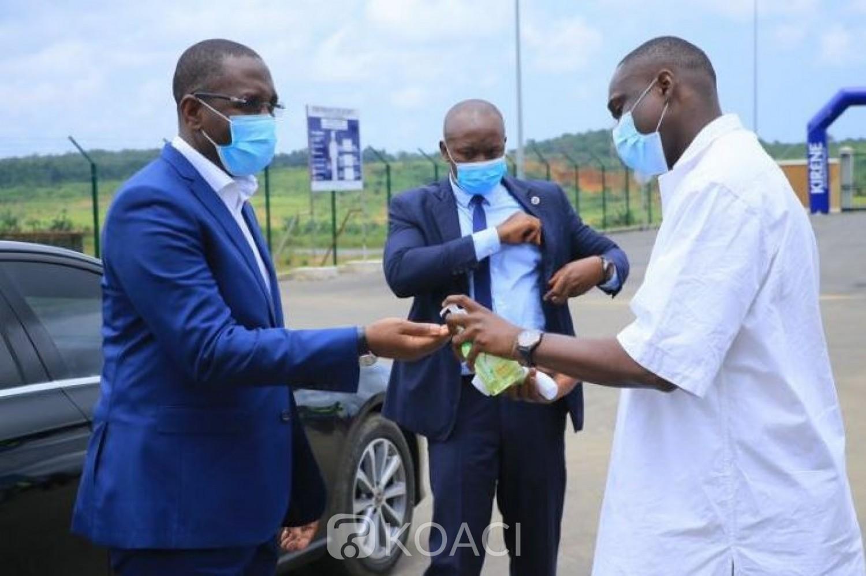 Côte d'Ivoire : Même si très peu de cas de Coronavirus, le non-port du masque rappelé en vue de la rentrée scolaire
