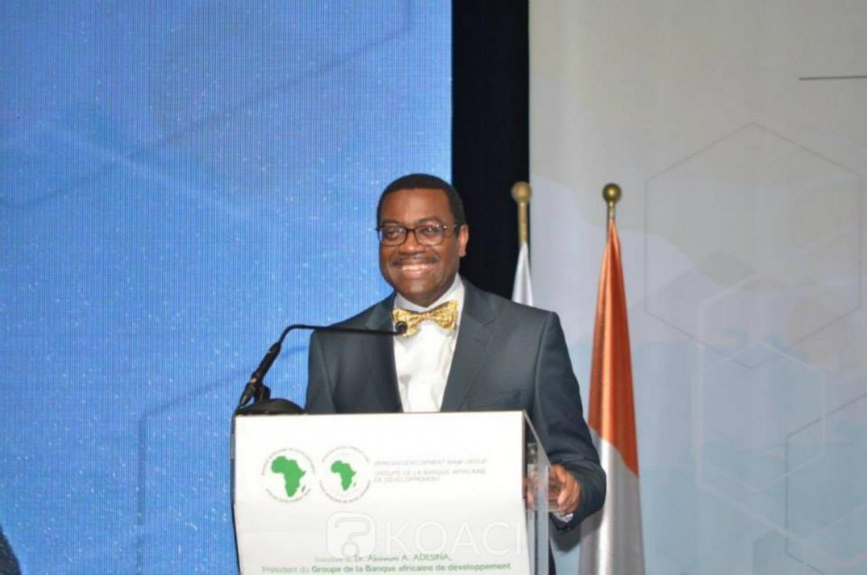 Côte d'Ivoire : BAD, Adesina annonce la création de banques d'investissement pour les jeunes entrepreneurs