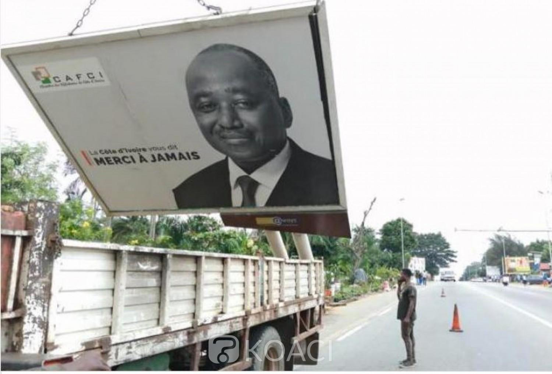 Côte d'Ivoire : Opération de démantèlement des panneaux publicitaires, la Chambre des afficheurs dénonce  des violations graves par le CSP et le Ministère de tutelle