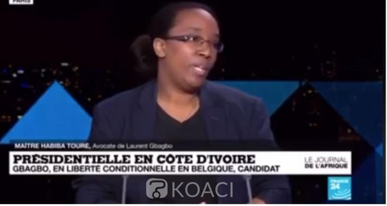 Côte d'Ivoire : Présidentielle d'Octobre 2020, selon Me Habiba, Laurent Gbagbo n'a pas fait acte de candidature, c'est une initiative qui n'engage qu'EDS