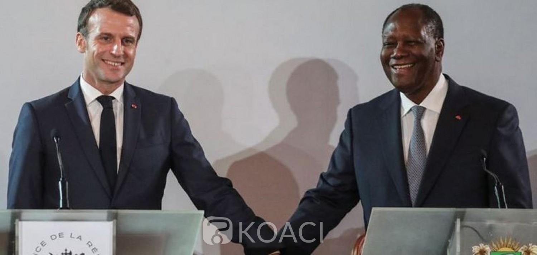 Côte d'Ivoire-France : Alassane Ouattara et Emmanuel Macron en tête à tête à Paris ce vendredi