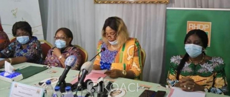 Côte d'Ivoire : A moins deux mois de la présidentielle,  des femmes du FPI rallient le RHDP