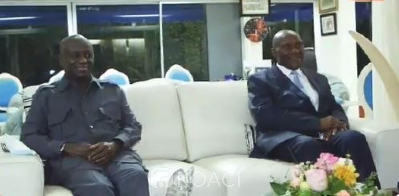 Côte d'Ivoire : Marcel Amon Tanoh chez Daniel Kablan Duncan pour  échanger  sur l'avenir du pays