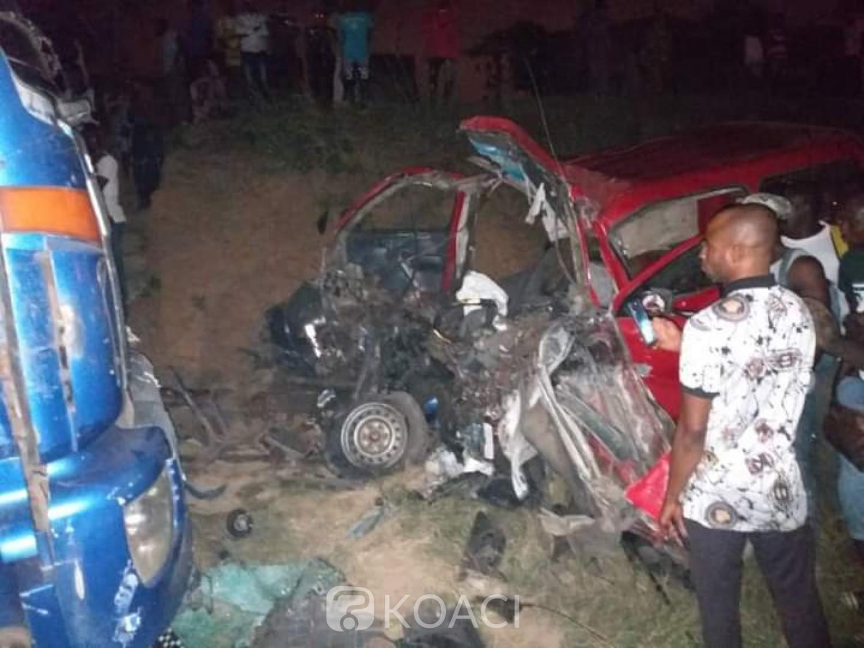 Côte d'Ivoire : Drame, un accident survenu près du nouveau stade d'Ebimpé, bilan provisoire 08 morts