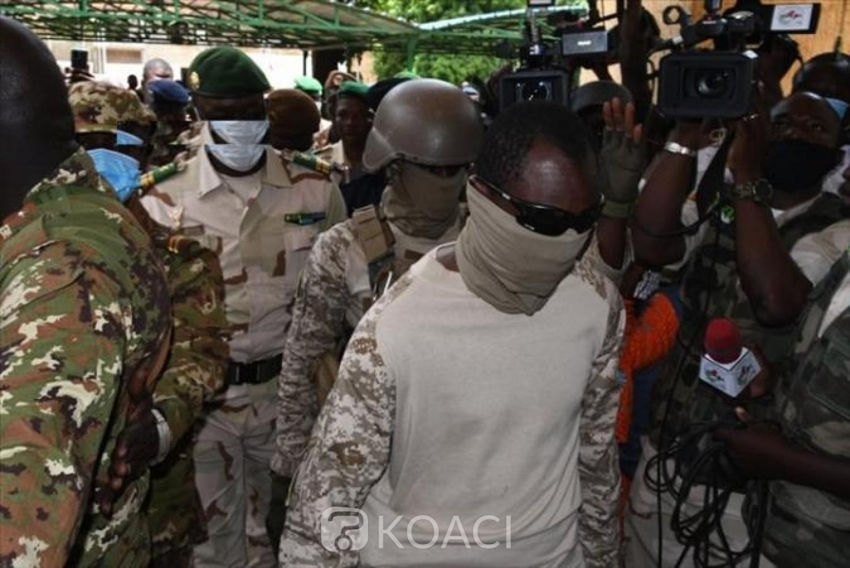 Mali : Le colonel Goita, chef de la junte militaire au chevet d'IBK