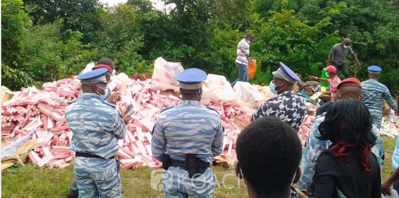 Côte d'Ivoire : Bouaké, plus de 11 tonnes de drogues saisies et 87 personnes appréhendées par la gendarmerie