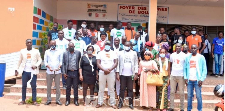 Côte d'Ivoire : Bouaké, pour des élections apaisées, la MOJEC organise sa sortie officielle