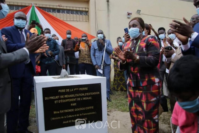 Côte d'Ivoire : 19 milliards FCFA pour les travaux de rénovation, d'extension et d'équipement de l'INSAAC