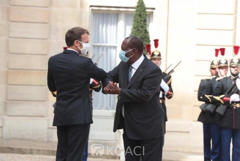 Côte d'Ivoire-France : Ouattara et Macron en phase, coup dur pour «l'opposition» à moins de deux mois de la Présidentielle ?