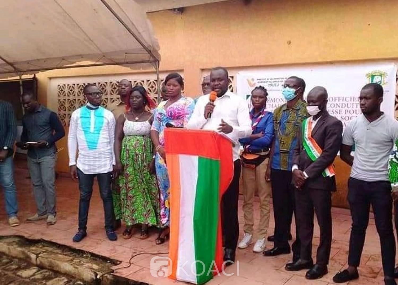 Côte d'Ivoire : Bouaké, pour le maintien de la cohésion sociale et pour des élections apaisées, une charte adoptée par des jeunes