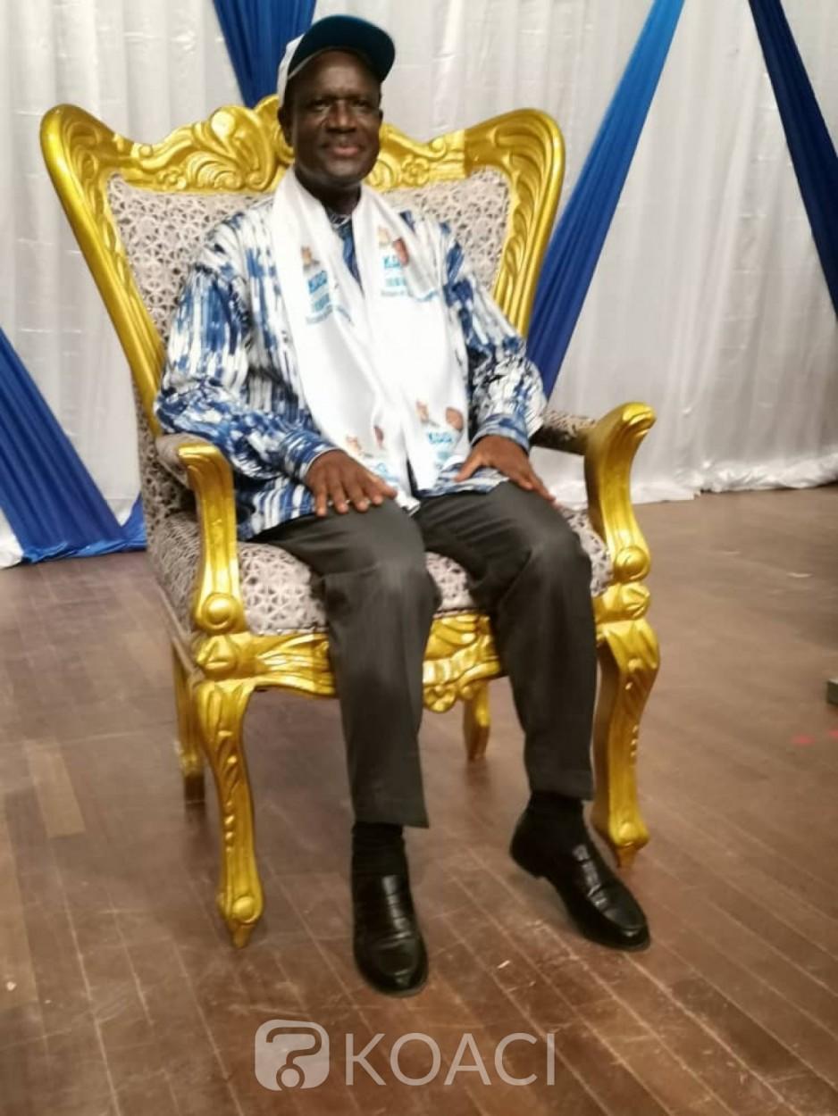 Burkina Faso : Présidentielle, Kadré Desiré Ouédraogo investi candidat