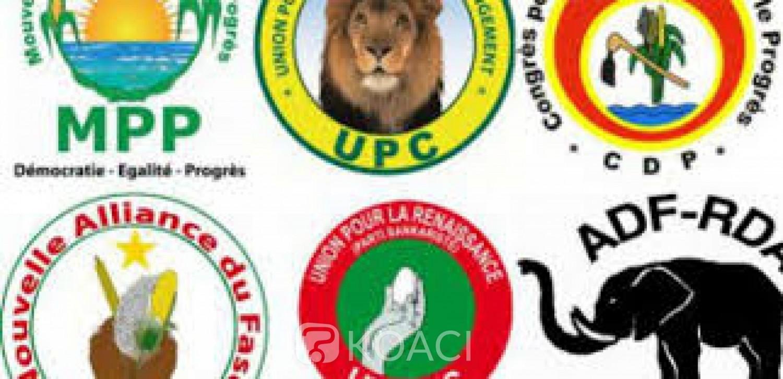 Burkina Faso : 143 partis et 3 formations politiques autorisés à prendre part aux élections