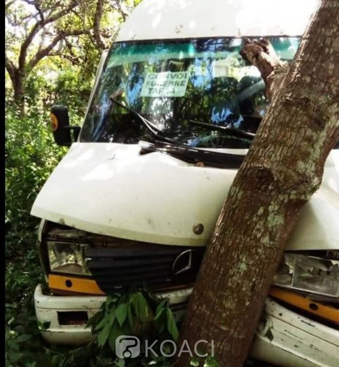 Côte d'Ivoire : Un véhicule Massa finit sa course dans un ravin, un décès