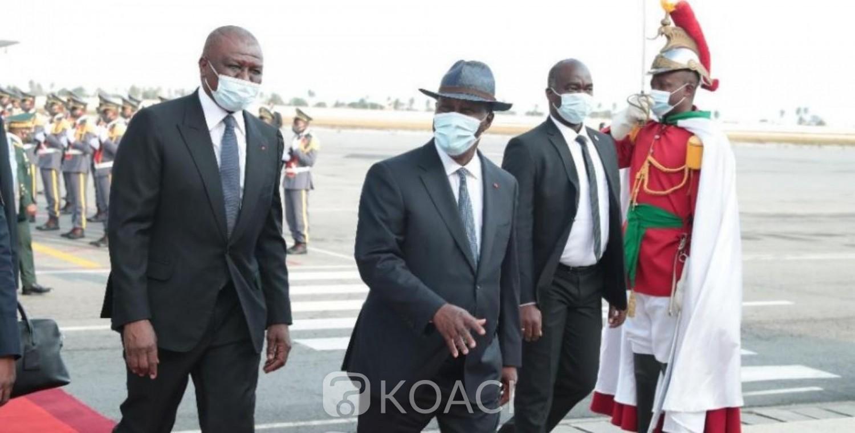 Côte d'Ivoire : Fort du succès de Paris, Ouattara rentre à Abidjan tout sourire