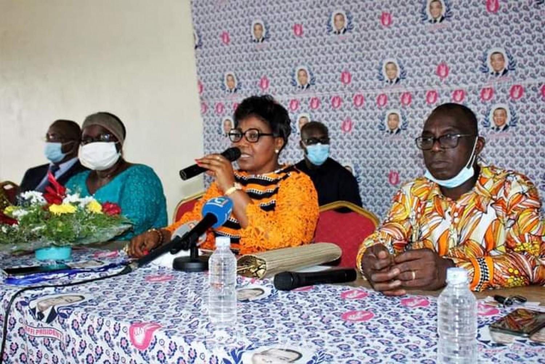 Côte d'Ivoire : Présidentielle 2020, Angeline Kili, des femmes d'Abobo et d'Anyama mobilisées pour porter Affi au pouvoir au soir du 31 octobre