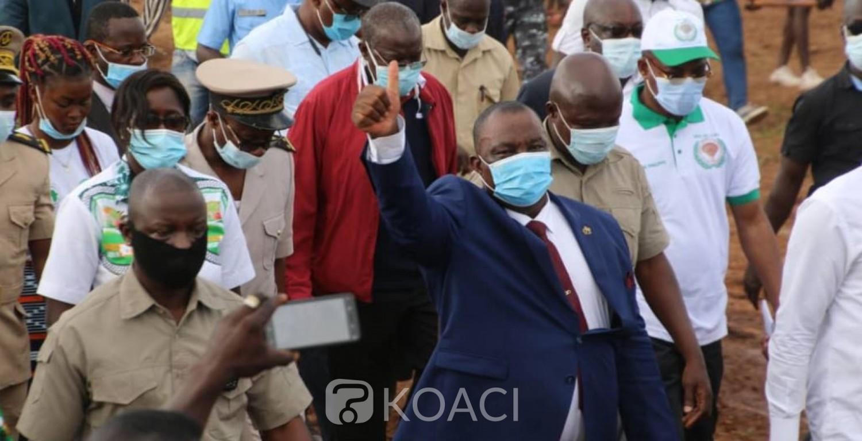 Côte d'Ivoire : Adjoumani dans le Bélier mobilise pour la victoire du RHDP et martèle : « Aujourd'hui, votre bienfaiteur s'appelle Alassane Ouattara»