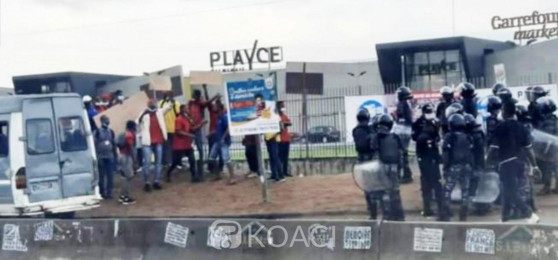 Côte d'Ivoire : Conciliation sans issue chez PlaYce entre syndicat et direction, présence policiere aux abords des centres commerciaux par précaution