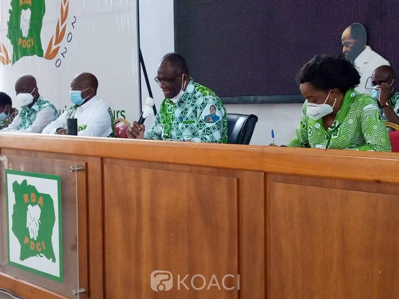 Côte d'Ivoire : Guikahué révèle que le PDCI ne prendra pas part à la Présidentielle d'Octobre si des conditions ne sont pas réunies