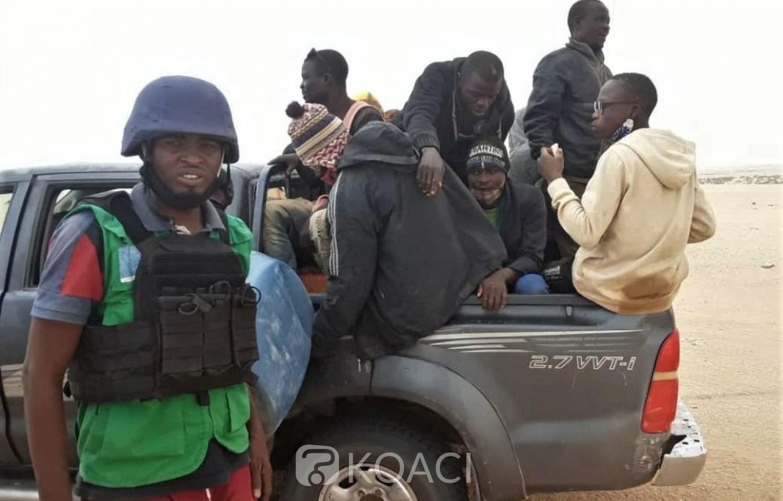 Libye : 83 migrants dont quatre togolais abandonnés en plein désert