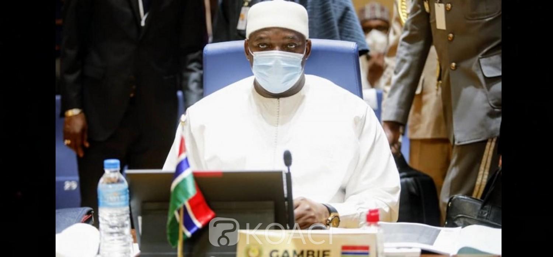 Gambie :  Requête de Barrow à la CEDEAO pour prolonger le mandat de l'ECOMIG