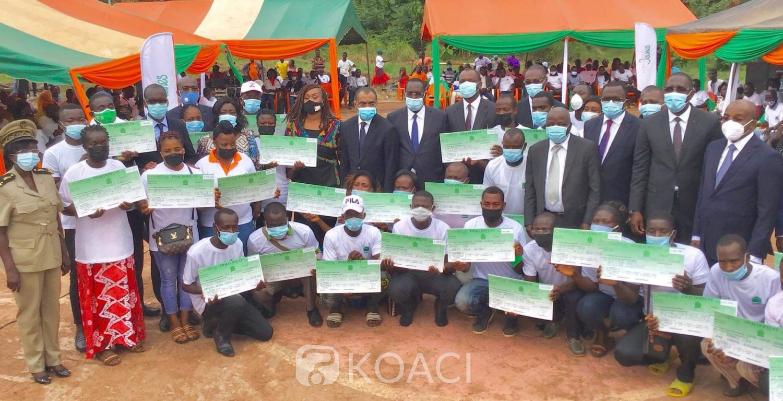Côte d'Ivoire : Autonomisation des jeunes dans le Moronou, Mamadou Touré présente les résultats des initiatives