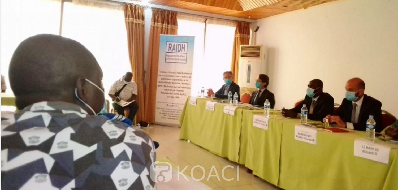 Côte d'Ivoire: Bouaké, sécurité et cohésion sociale en contexte électoral, les forces de l'ordre formées
