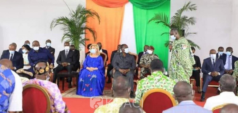 Côte d'Ivoire :   Bongouanou, Ouattara demande et supplie, les chefs politiques d'arrêter de manipuler les jeunes