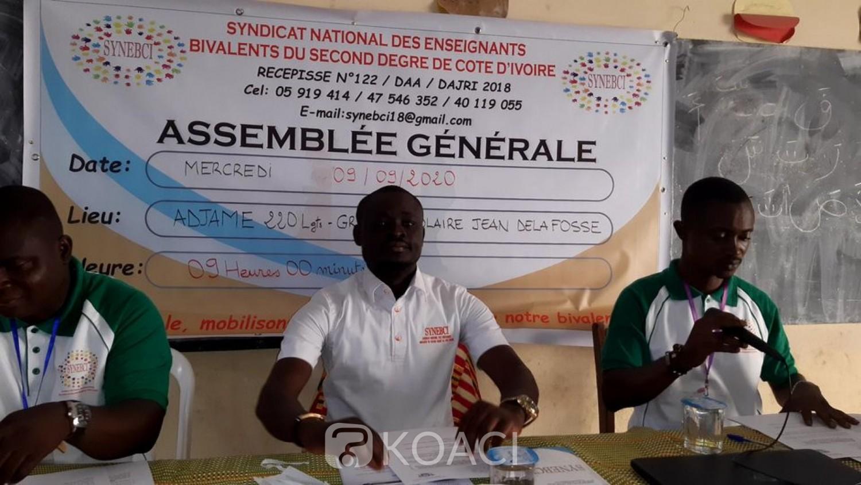Côte d'Ivoire : Année scolaire 2020-2021, des professeurs bivalents menacent de bloquer les collèges de proximité