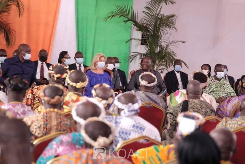 Côte d'Ivoire :    M'Batto, les populations rendent hommage à Ouattara pour ses actions de développement