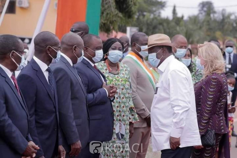 Côte d'Ivoire : Éducation, depuis Bongouanou, Alassane Ouattara vante les mérites de Kandia Camara