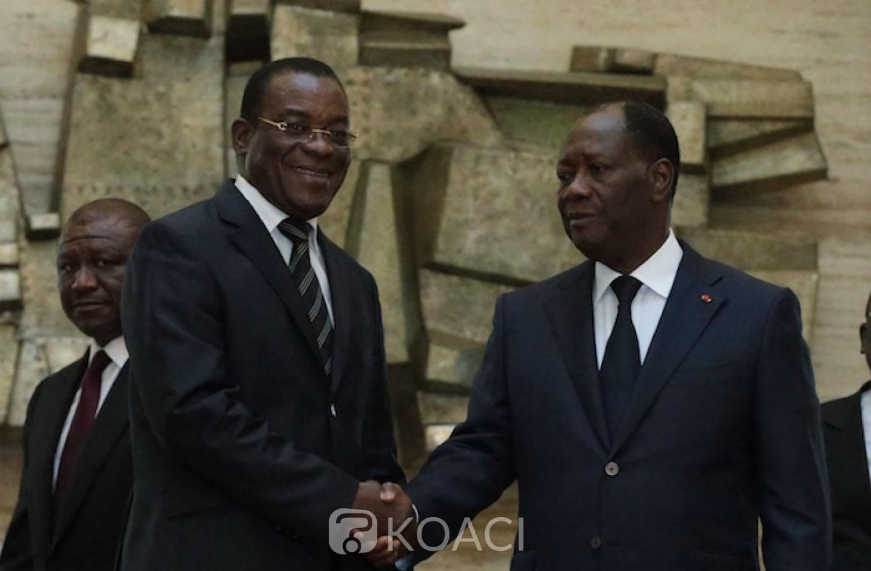Côte d'Ivoire : A Bongouanou, Ouattara révèle qu'Affi avait confirmé sa présence, l'ex-Premier ministre s'inscrit en faux
