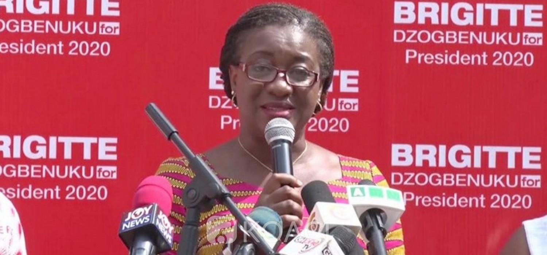 Ghana :  Présidentielle 2020, Brigitte Dzogbenuku du PPP, deuxième femme candidate