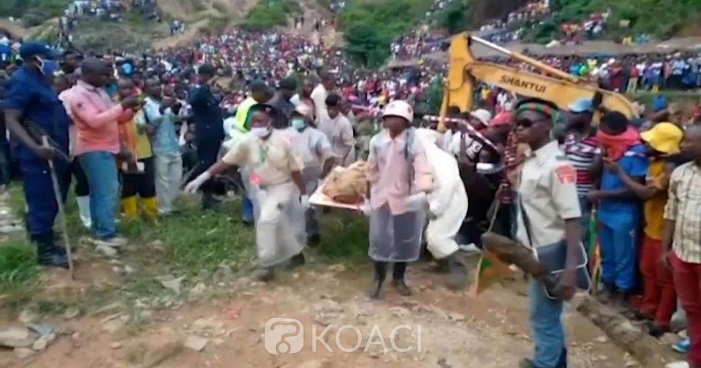 RDC : 50 creuseurs artisanaux morts dans une mine, les premiers corps ramenés sur terre