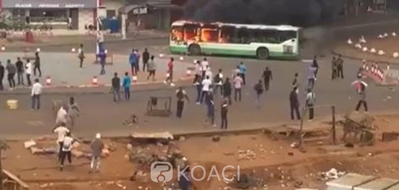 Côte d'Ivoire : Après l'incendie de son autobus, la Sotra suspend sa desserte  à Yopougon jusqu'à nouvel ordre