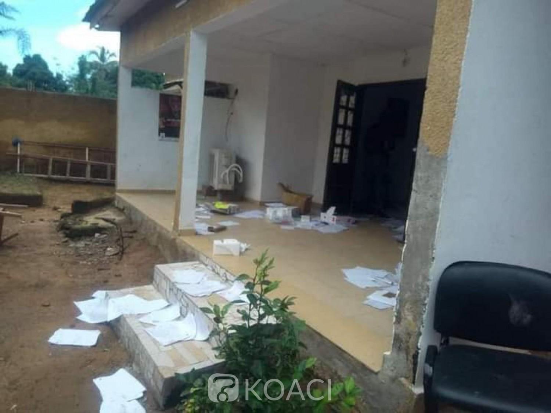 Côte d'Ivoire : À Bangolo, la CEI locale saccagée par des individus non identifiés